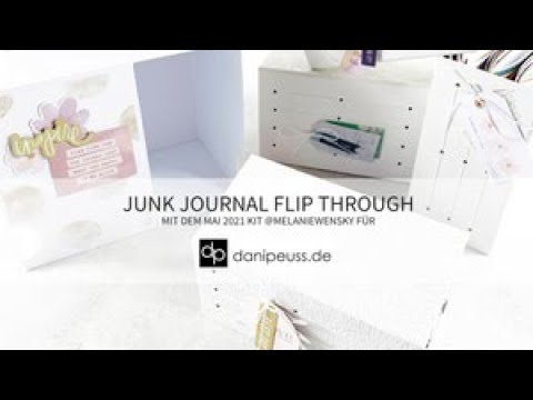 Junk Journal hoch 4