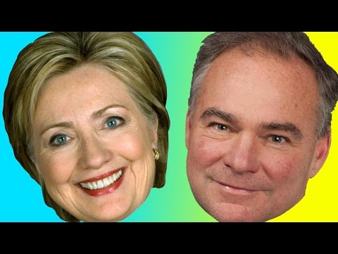 Hacking Hillary & Clapping Tim Kaine LIVE In Concert!