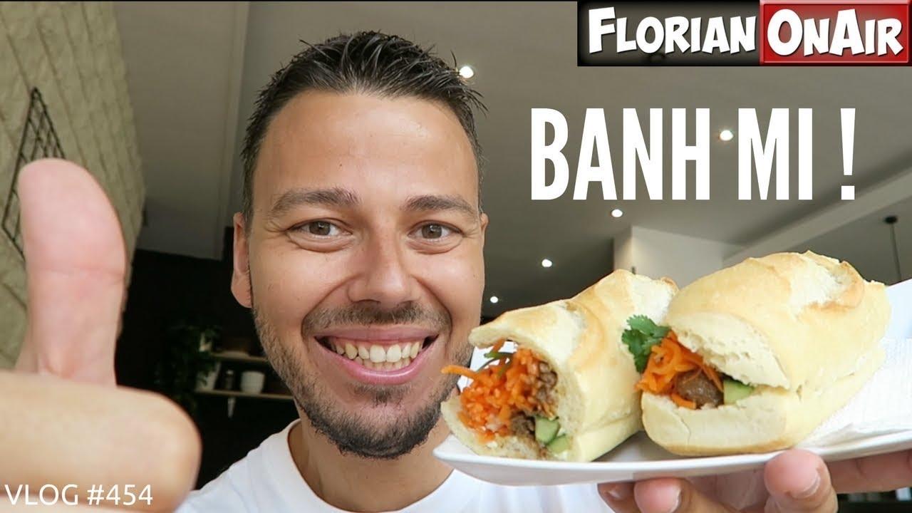 LE BANH MI : un SANDWICH VIETNAMIEN super équilibré! – VLOG #454