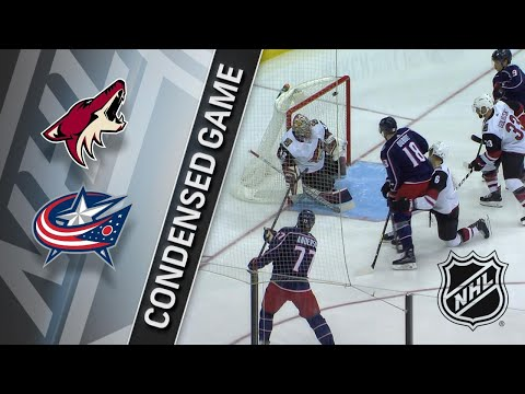 12/09/17 Condensed Game: Coyotes @ Blue Jackets