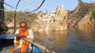Marbel rock - at narmada river