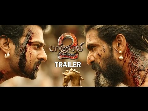 Thumbnail: Bahubali 2 Official Trailer Review | Prabhas, Rana Daggubati, Anushka, Tamanna | Tamil Reactions