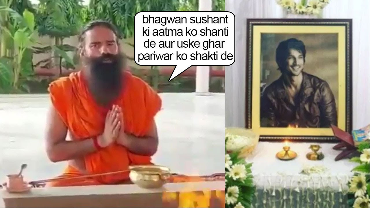 Download Ramdev Baba Maha Pooja For Sushant Singh's Aatm-Shanti Joins Global Prayer For SSR With His Family