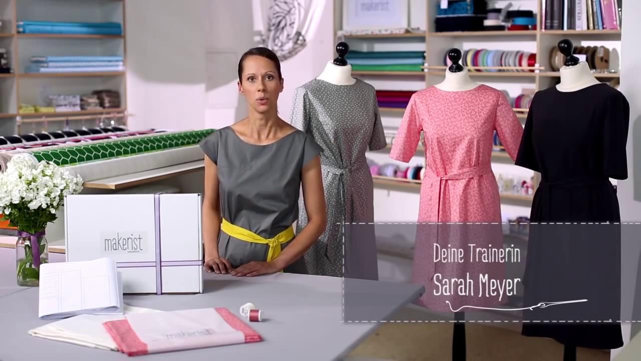 e6fca44d689254 Trailer  Kleid in A-Linie selbst nähen - YouTube