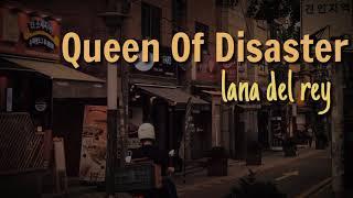 Lana del rey - Queen of disaster | Lyric vedeo terjemahan (Cover by Lo la)