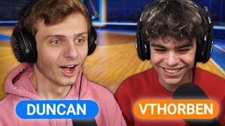 HOOPS RUMBLE BOOMER 1V1 TEGEN VTHORBEN | Rocket League