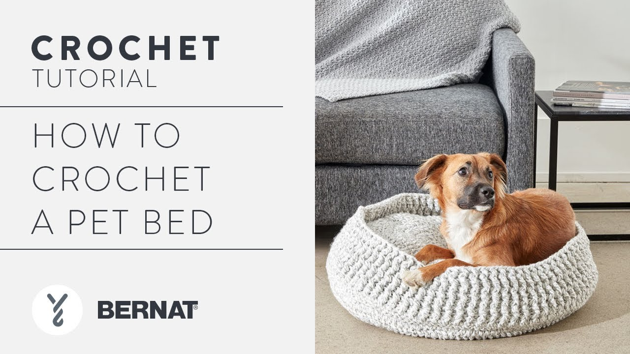 Crochet A Pet Bed Youtube
