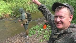 рыбалка на хариуса и ленка/ дикая природа и красивейшая река/ отличный улов/ июль 2020