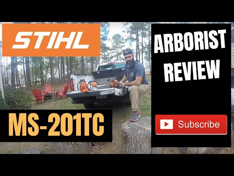 """STIHL MS 201 T C-M Review - the """"ultimate arborist chainsaw"""""""