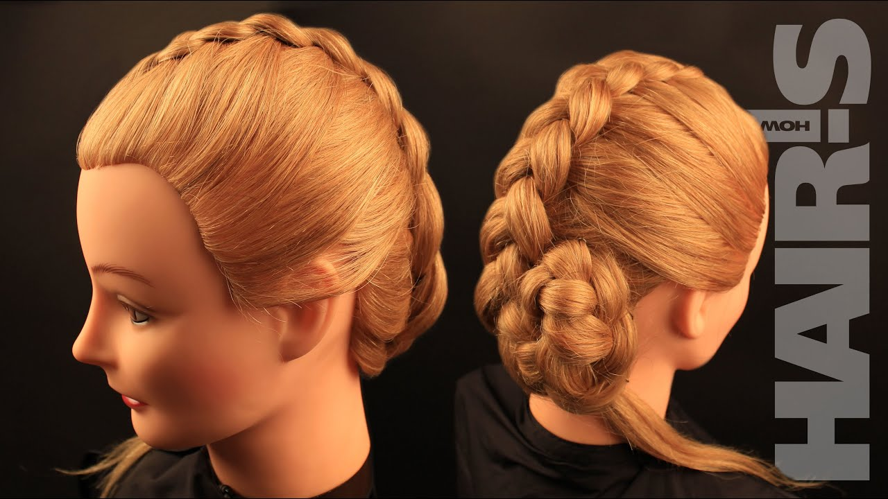 How To Do A Dutch Braid (reverse French Braid) Hairstyle €� Video Tutorial ( Howto) Hair's How