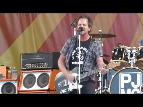 Pearl Jam - Jazz And Heritage Festival, New Orleans, 04.23.2016