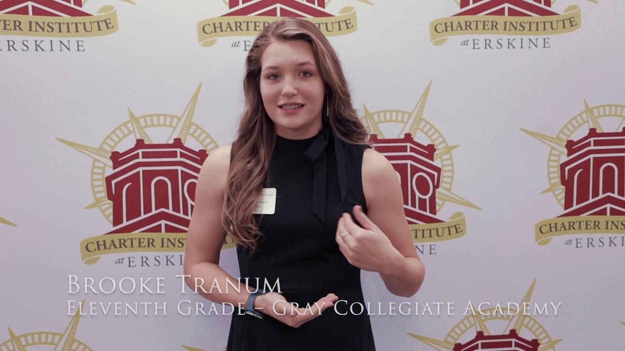 Students Selected as Erskine Charter Ambassadors