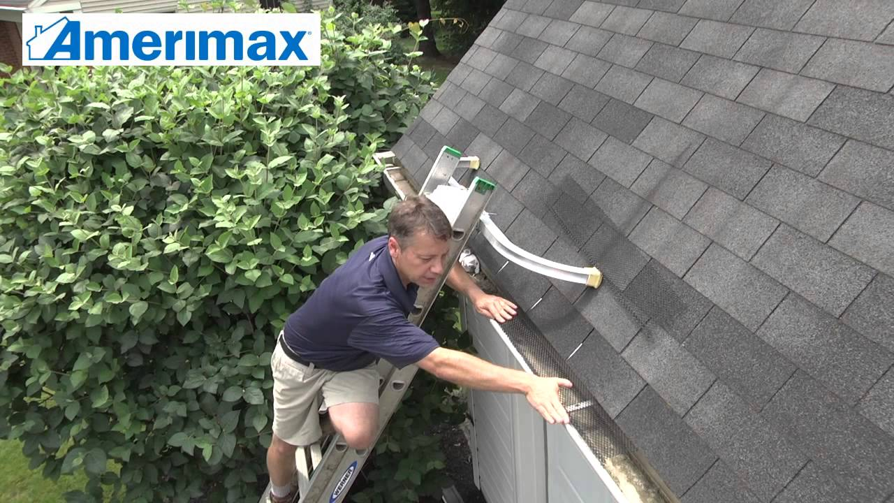 How To Install Amerimax Lock On Gutter Guards Youtube