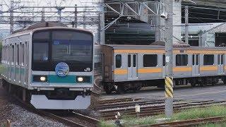 【常磐線撤退】JR東日本209系1000番台@金町駅・大宮駅【中央線へ】