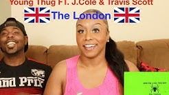 He Snapped‼💯 Young Thug Ft. J.Cole & Travis Scott The London Reaction