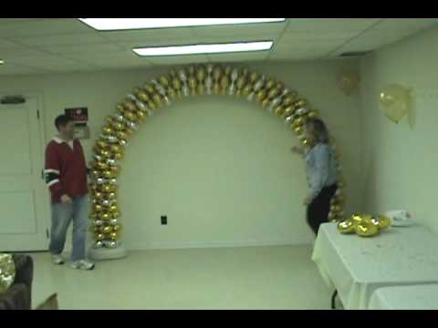 how to make a balloon arch youtube
