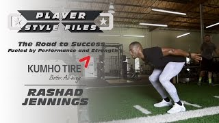 Player Style Files: Rashad Jennings and his Road to Success