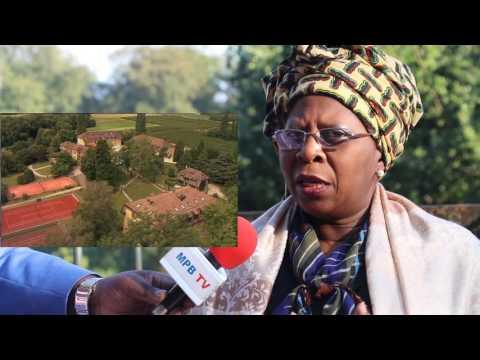 RDC -Justine Kasa-Vubu Candidate à l'Election Présidentielle donne sa Biographie.