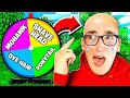 Spin the MYSTERY WHEEL Challenge! **EXTREME EDITION**