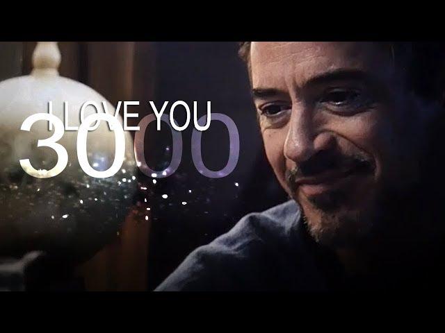 (Marvel) Tony Stark | I love you 3000
