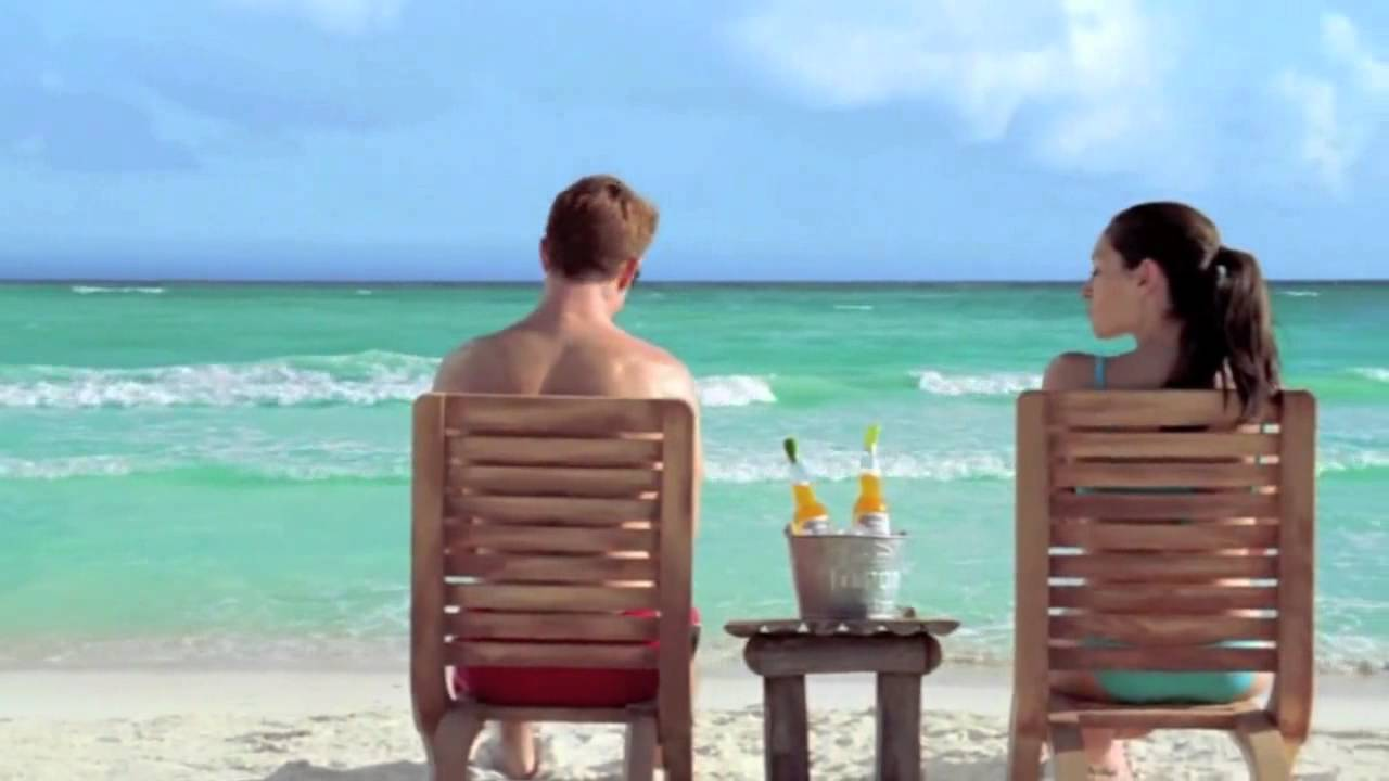 Strapon man beach squirt
