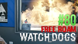 WATCH DOGS Free Roam Gameplay #80 - Bad Design! (WatchDogs Single Player Free Roam)