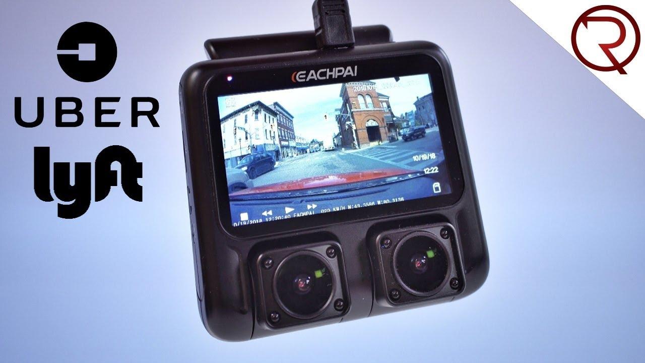 Great Dash Camera For Uber Lyft Drivers Eachpai X100 Dual Camera