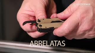 Pinza Leatherman Rebar Coyote