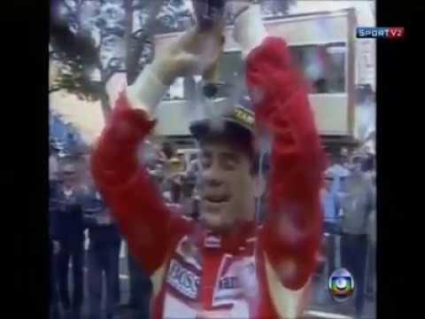 Ayrton Senna - GP de Mônaco Tema da Vitória versão lenta