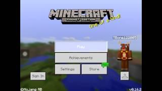 Minecraft PE Skywars Server v0.16.2