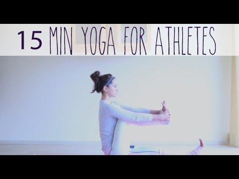 15 minute gentle yoga for athletes