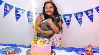 حفلة عيد ميلاد قطة شفا !!!