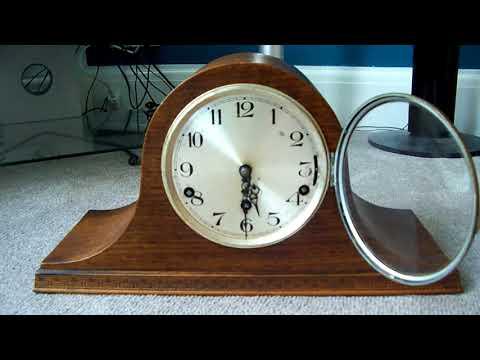 Triple chime mantle clock for sale on ebay WESTMINSTER & WHITTINGTON & FAV CHIME (FORT AUGUSTINE)