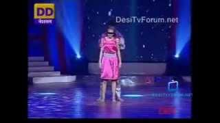 Deepak and Pankti BLIND FOLD tujhe bhula diya Bharat ki shaan lets dance