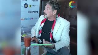 "John McAfee: ""Blockchain is the truth"""