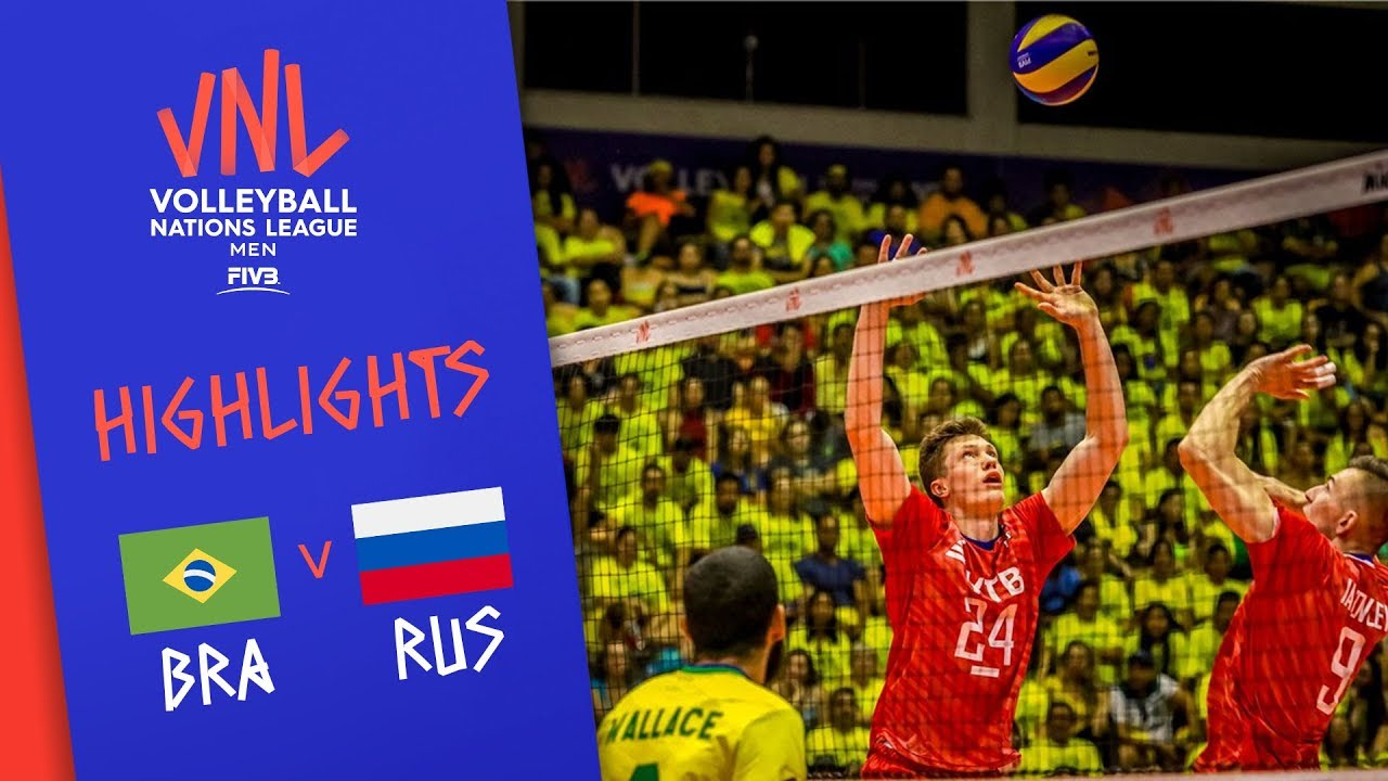 Download BRAZIL vs. RUSSIA - Highlights Men | Week 4 | Volleyball Nations League 2019