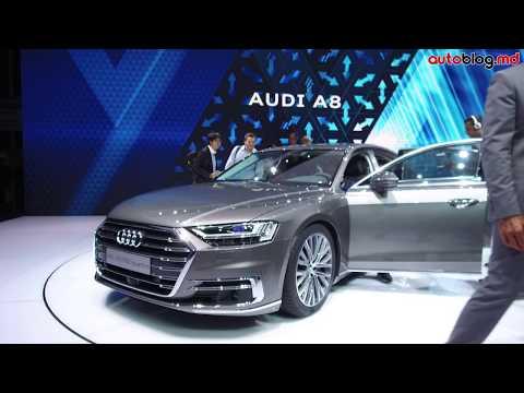 Frankfurt 2017: Standul Audi – Reportaj Video AutoBlog.MD