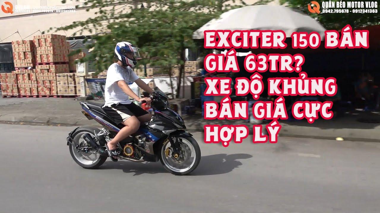 Yamaha Exciter 150 Độ Siêu Khủng Bán Giá 63tr. Lý Do Ex150 Độ Gì Mà Bán tận 63 triệu. Review Xe Độ