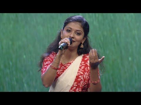 Paadam Namukku Paadam  Sneha Sings 'arappavan Ponnu Kondu' Song  Mazhavilmanorama