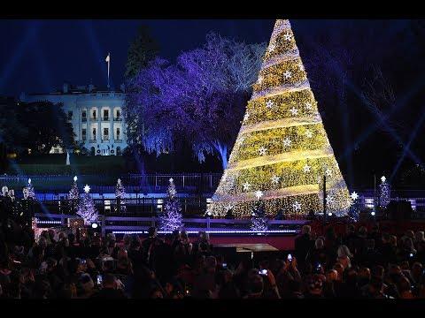 A VERY MERRY CHRISTMAS - President Trump & First Lady Melania Trump - Christmas 2017