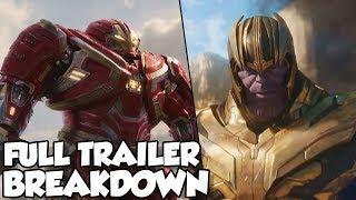 NEW Avengers Infinity War Trailer Breakdown - FULL Trailer Review! Thanos Vs Avengers