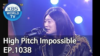 High Pitch Impossible | 고음 불가 [Gag Concert / 2020.03.21]