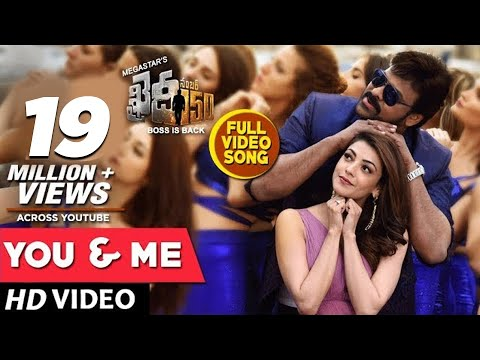 You And Me Full Video Song | Khaidi No 150 Full Video Songs | Chiranjeevi, Kajal Aggarwal | DSP thumbnail