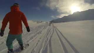 Snowboarding @ AK