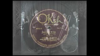 "New Orleans in the 20s: ""Brown Eyes"" by Johnny De Droit's New Orleans Orchestra (Okeh 1924)"