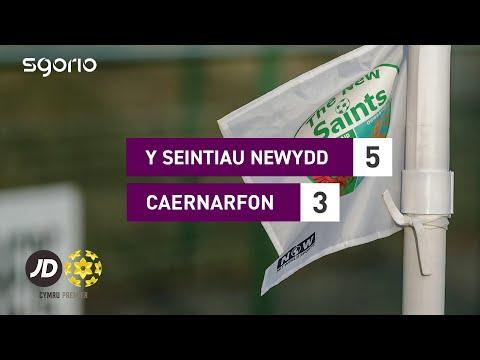 TNS Caernarfon Goals And Highlights