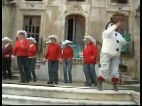 line dancing Spain - Frosty the snowman
