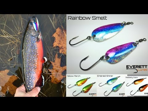 Casting Spoons for Fall Brook Trout – EVERETT LURES
