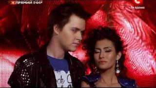 Х-Фактор 2. Аркадий и Малика. Новогодний концерт 31.12.2011