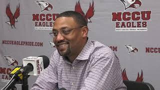 NCCU Weekly Press Conference: Week 13 vs North Carolina A&T State University (Nov. 19, 2019)